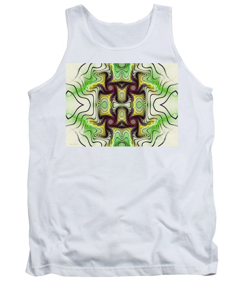 Aztec Art Design Tank Top