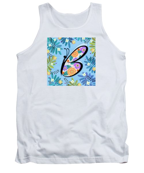 B Is For Butterfly Tank Top
