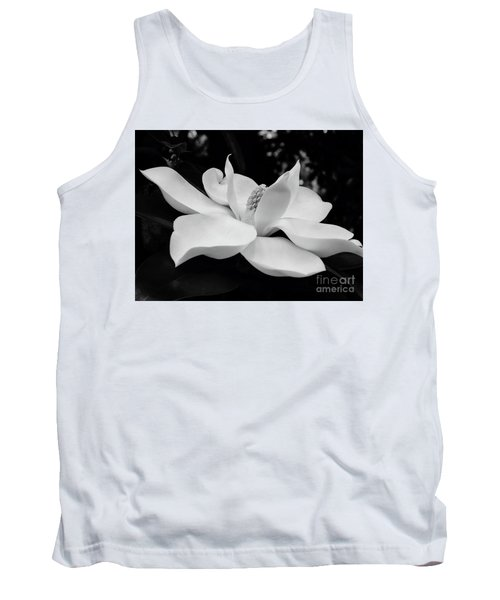B W Magnolia Blossom Tank Top