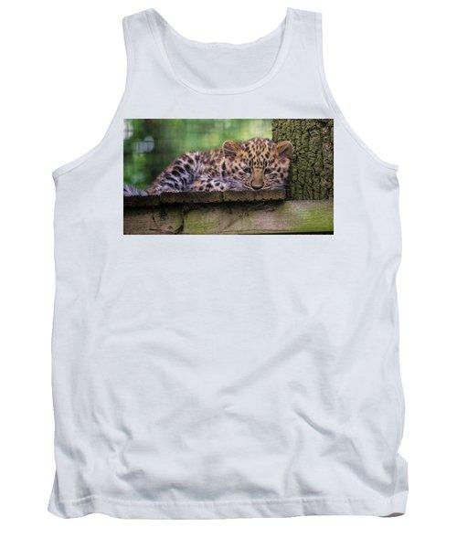 Baby Amur Leopard Tank Top