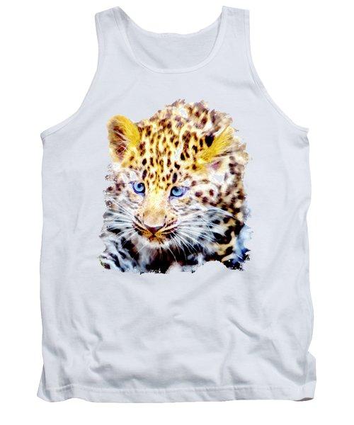 Baby Leopard Tank Top