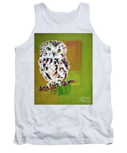 Baby Owl Tank Top