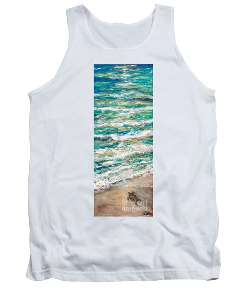 Baby Sea Turtle II Tank Top