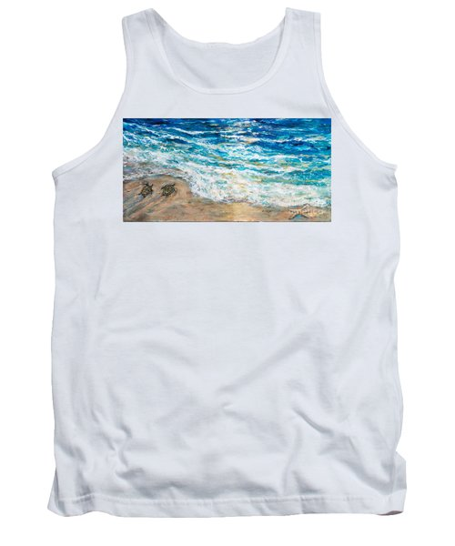 Baby Sea Turtles Iv Tank Top