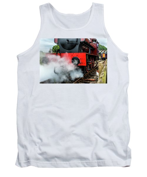 Tank Top featuring the photograph Back It Up by Nick Bywater