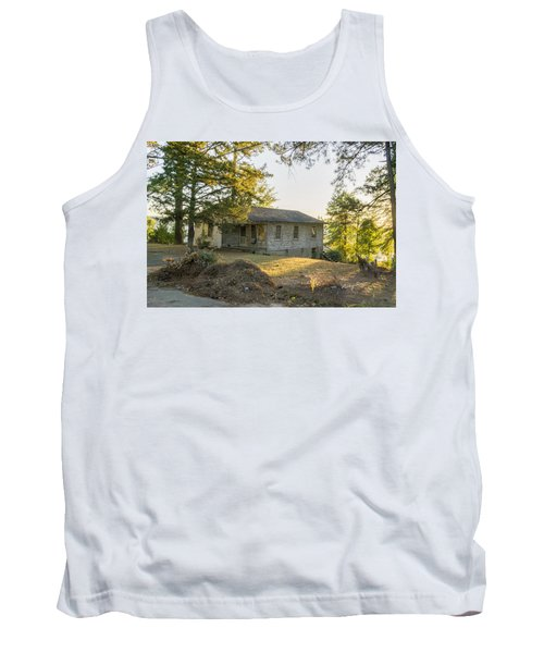 Back Porch Sunset Tank Top by Ricky Dean