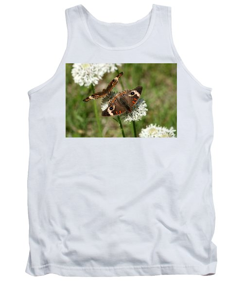 Back To Back Butterflies Tank Top by Sheila Brown