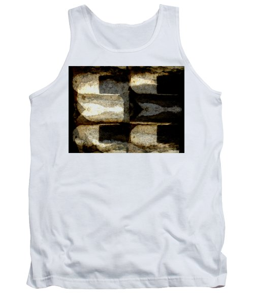 Colour Choice Stone Abstract Tank Top