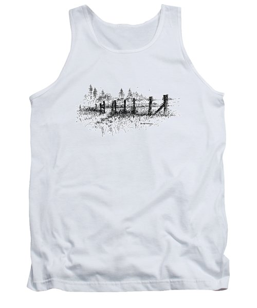 Backlit Fence Tank Top