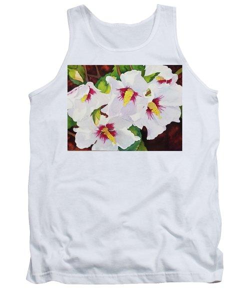 Backyard Blooms Tank Top