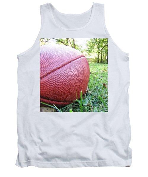Tank Top featuring the photograph Backyard Football by Robert Knight