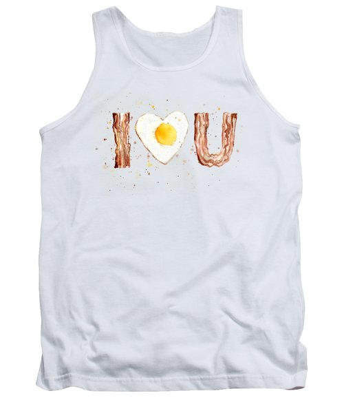 Bacon And Egg Love Tank Top