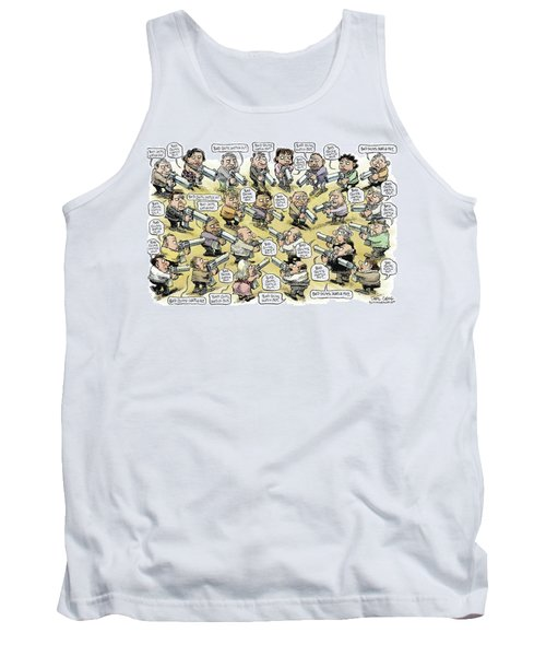 Bad Guys Watch Out Tank Top