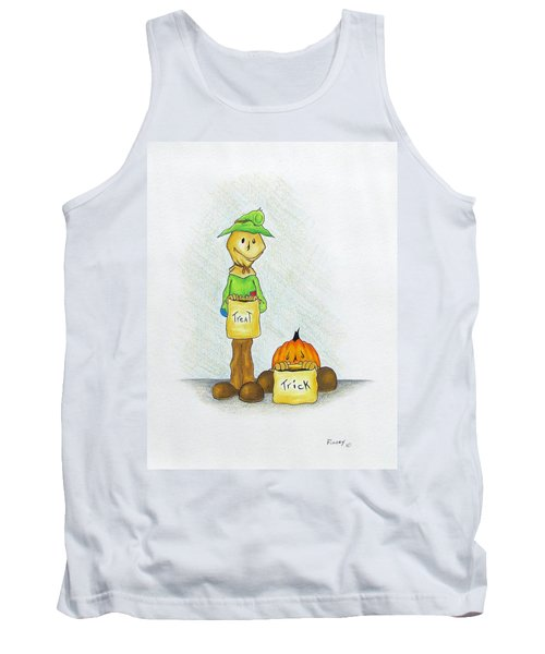 Baggs And Boo Treat Or Trick Tank Top