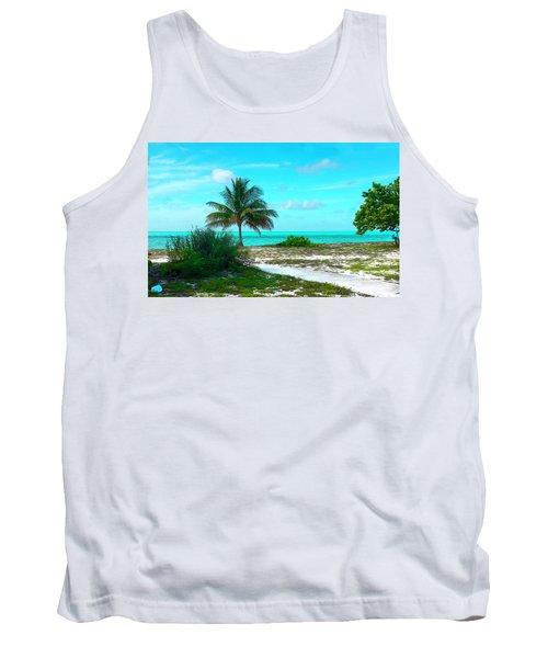 Bahama Beach Photo Tank Top
