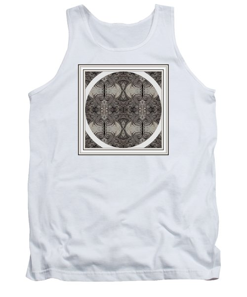 Balance Expressed In Black And White Tank Top by Jack Dillhunt