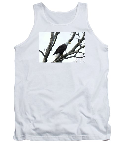 Tank Top featuring the photograph Bald Eagle 2 by Steven Clipperton