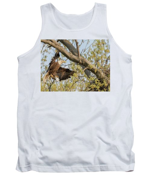 Bald Eagle Catch Of The Day  Tank Top