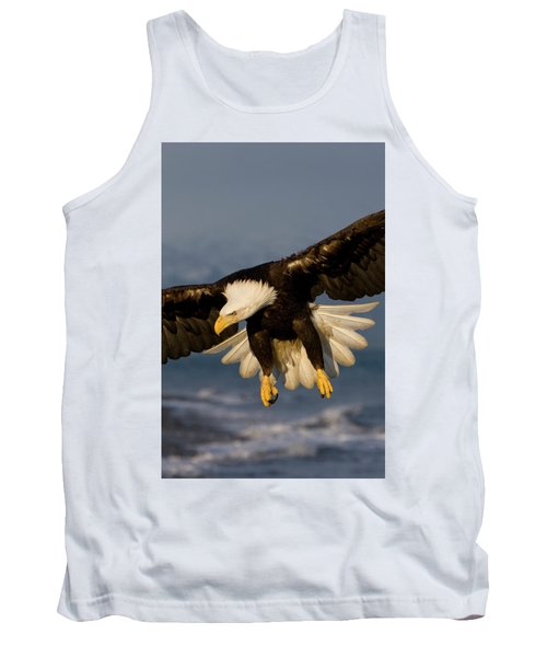 Bald Eagle In Action Tank Top