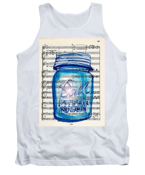 Ball Mason Jar Classical #168 Tank Top