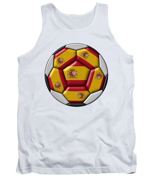 Ball With Spanish Flag Tank Top