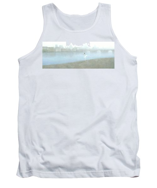 Ballerina On The Thames Tank Top