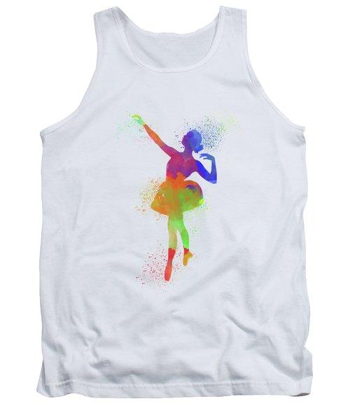 Ballet Watercolor 1 Tank Top