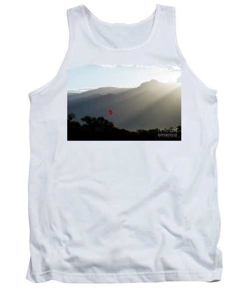 Balloon At Sunrise Tank Top