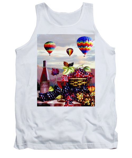 Balloon Ride At Dawn Tank Top
