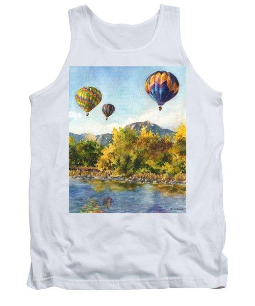 Balloons At Twin Lakes Tank Top