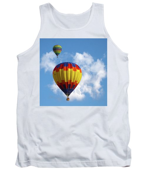 Balloons In The Cloud Tank Top by Marie Leslie
