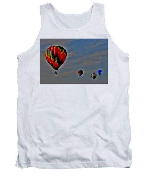 Balloons In The Sky Tank Top