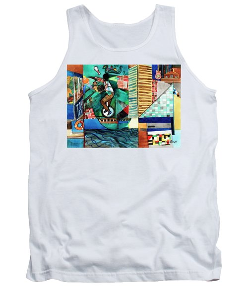Baltimore Inner Harbor Street Performer Tank Top