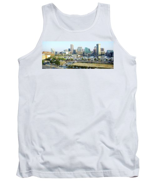 Tank Top featuring the photograph Baltimore's Inner Harbor by Brian Wallace