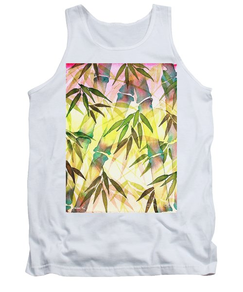 Bamboo Sunrise Tank Top