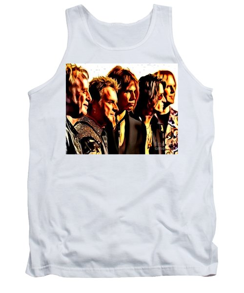 Band Who Tank Top