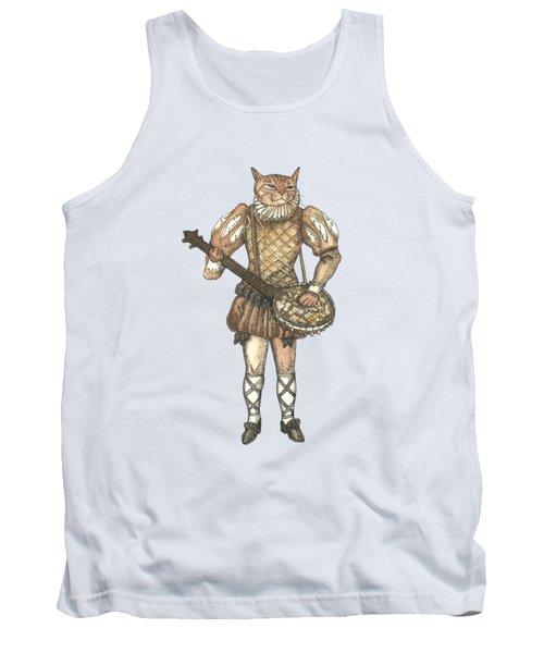 Banjo Cat Tank Top