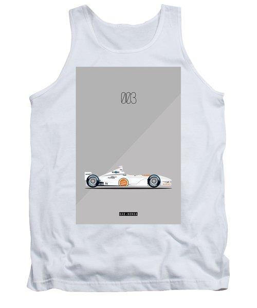 Bar Honda 003 F1 Poster Tank Top