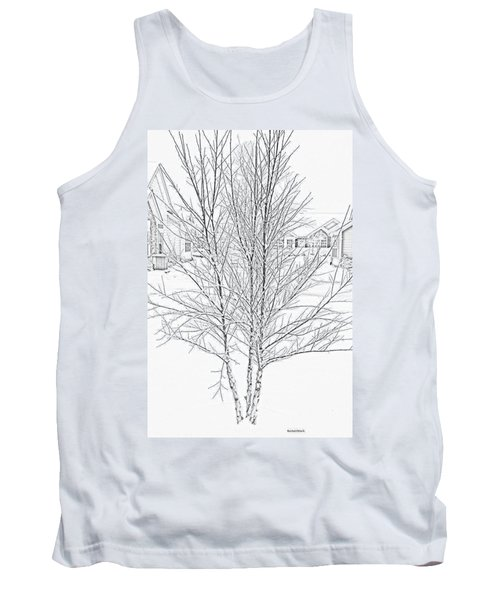 Bare Naked Tree Tank Top