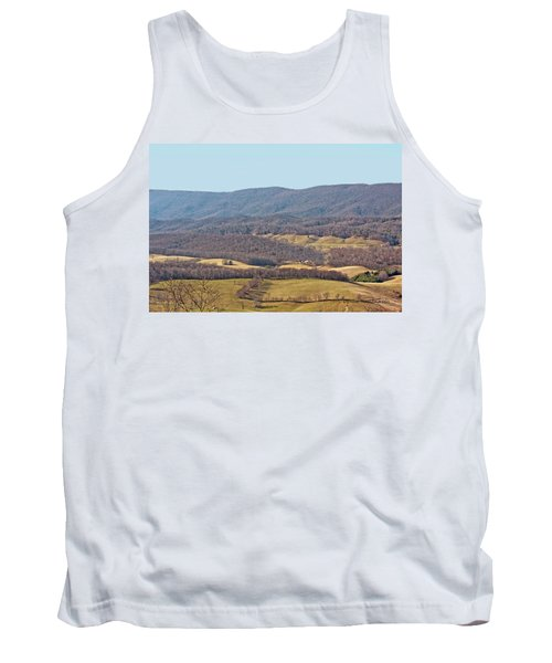 Bare Winter Tank Top by Denise Romano