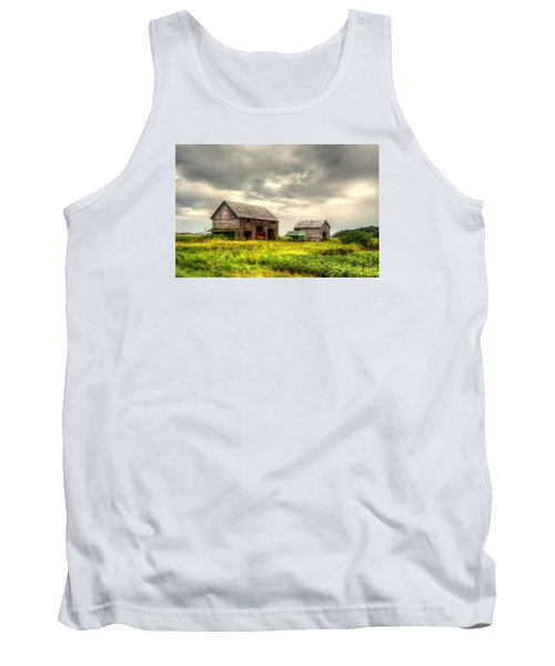 Barn And Sky Tank Top