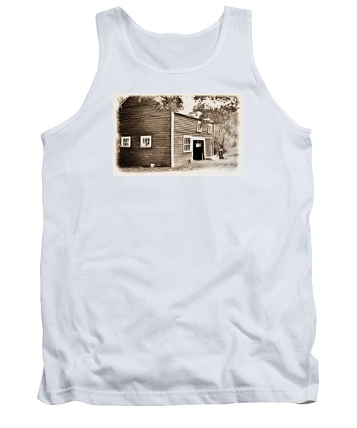 Barn In The Woods Tank Top