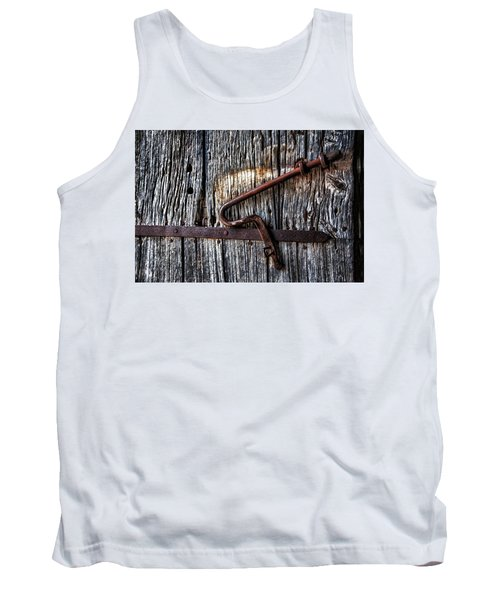 Barn Lock Tank Top by Patrick Boening