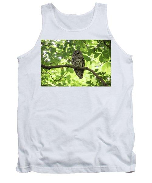 Barred Owl Tank Top