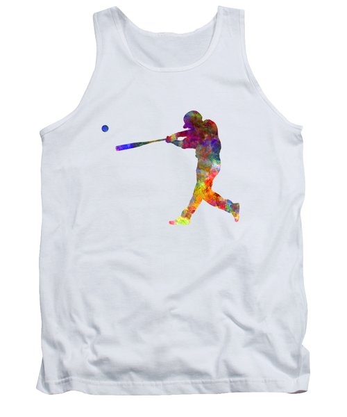 Baseball Player Hitting A Ball 02 Tank Top