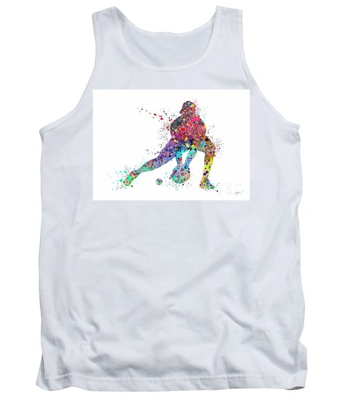Baseball Softball Catcher Sports Art Print Tank Top