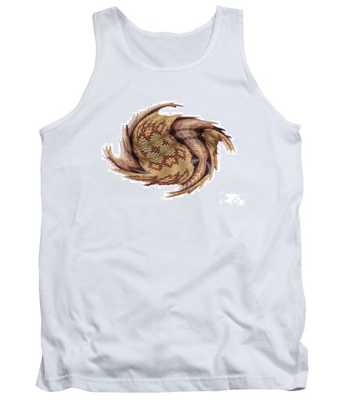 Basket Entering Black Hole Tank Top