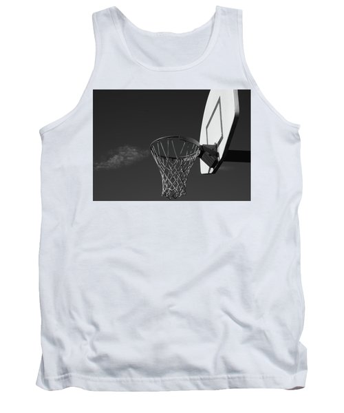 Tank Top featuring the photograph Basketball Court by Richard Rizzo
