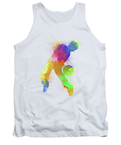Basketball Watercolor 1 Tank Top