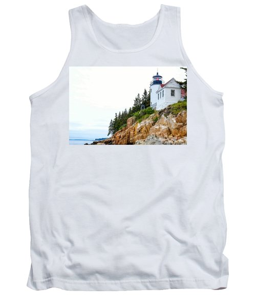 Bass Harbor Head Lighthouse 2 Tank Top